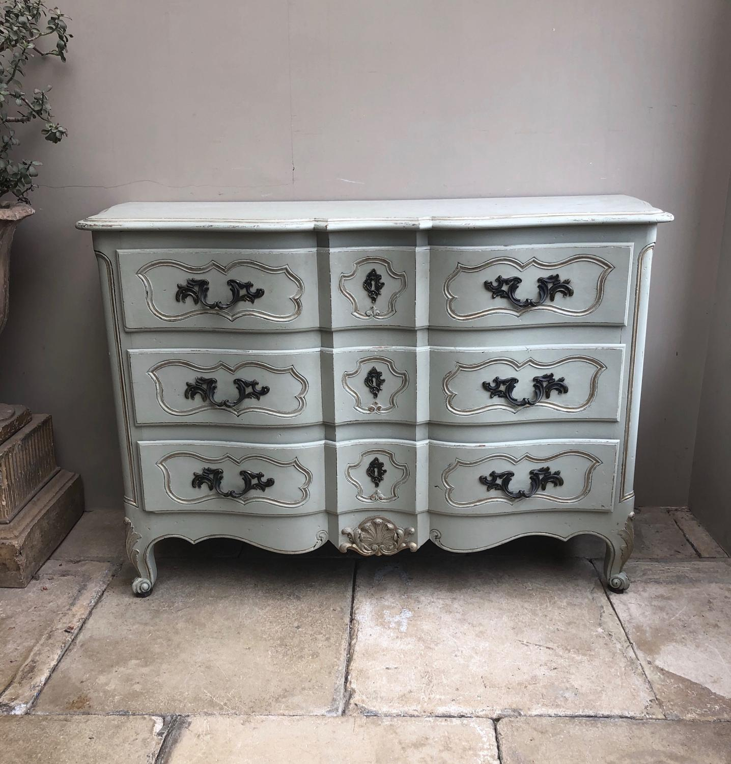 Superb French Commode Chest of Three Dawers c.1920