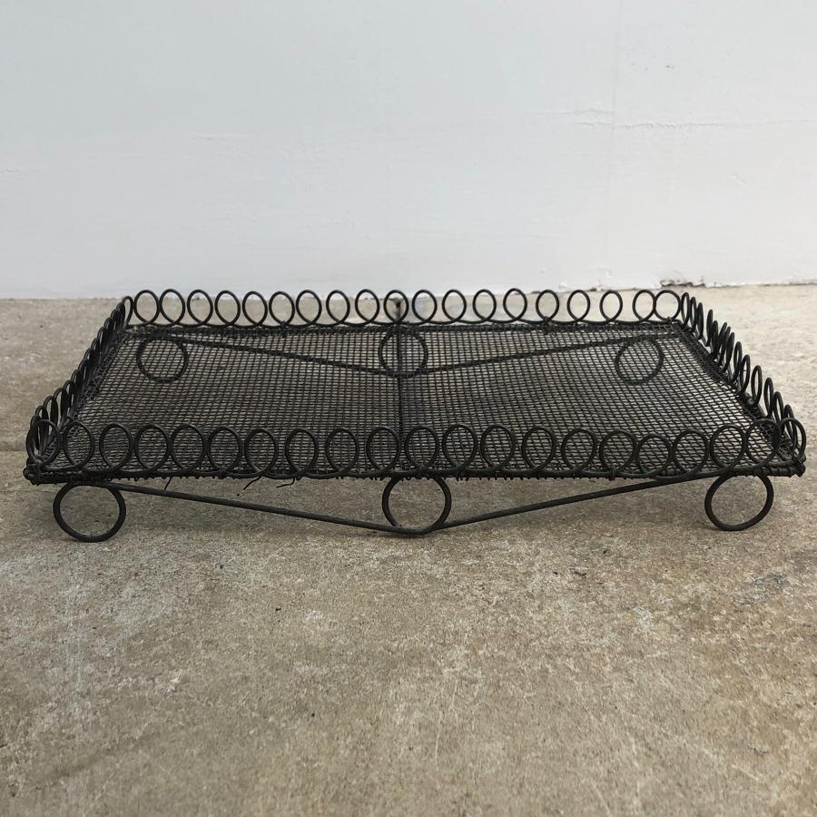 Victorian Wire Work Loop Top Cake Cooling Rack - Cute Size