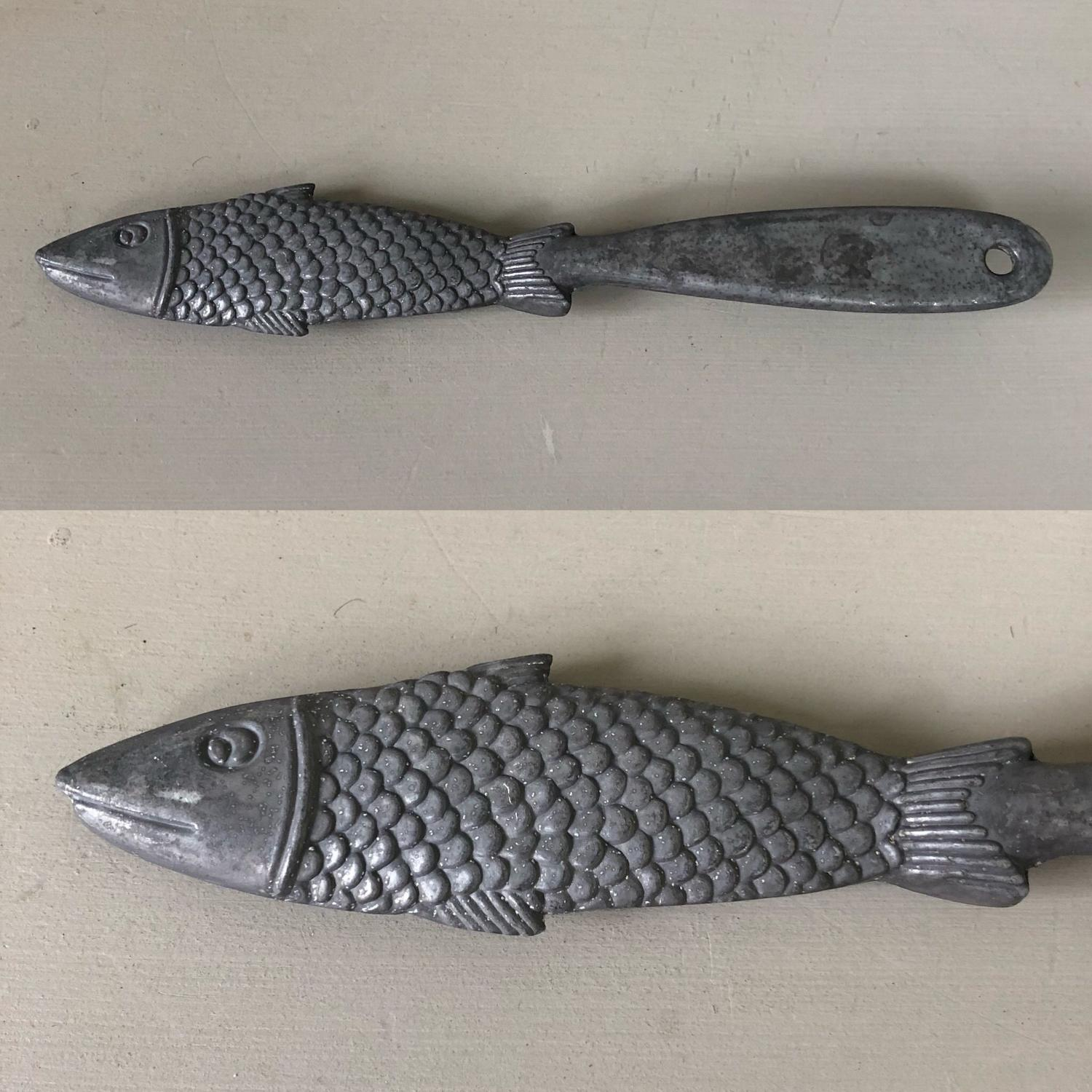 Mid Century Fish Scaler - Fine Detail & Large Size.