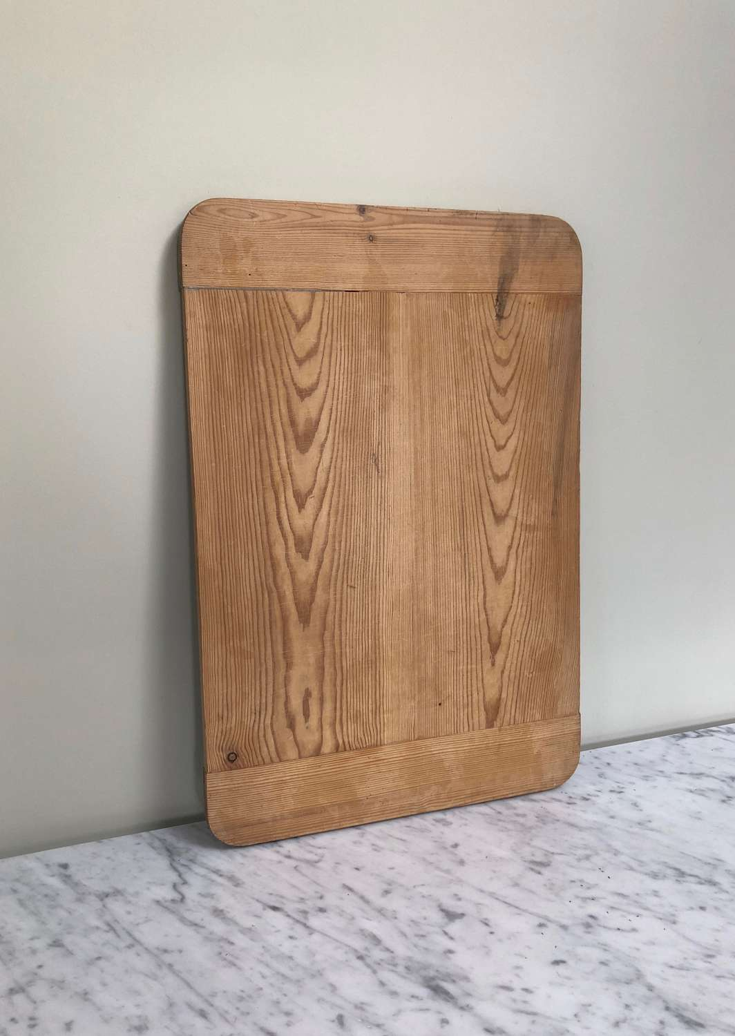 Large Early 20th Century Pine Kitchen Pastry Board