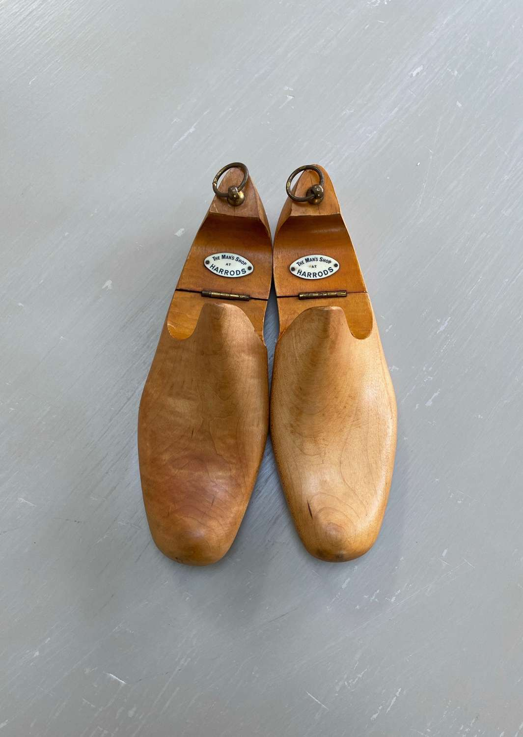 1940s Mens Wooden Shoe Trees Size 8 - Harrods