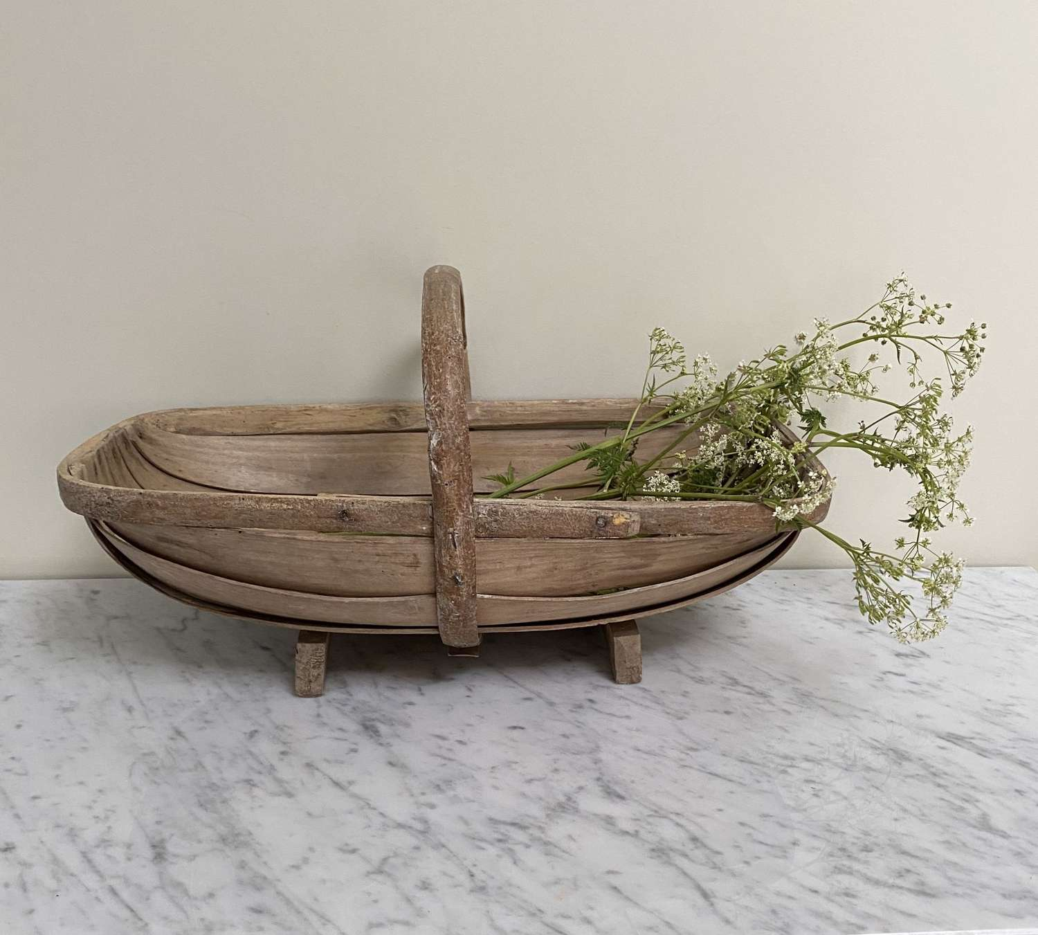 Lovely Condition Large Antique Sussex Trug