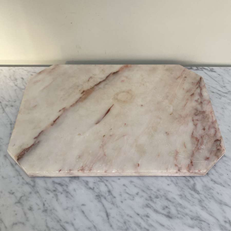 Victorian Shaped Marble Pastry Board
