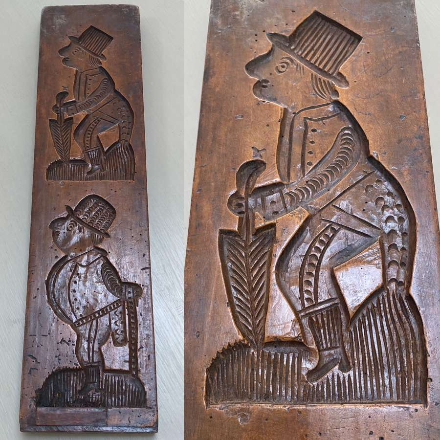 Victorian Large Double Sided Gingerbread Mould