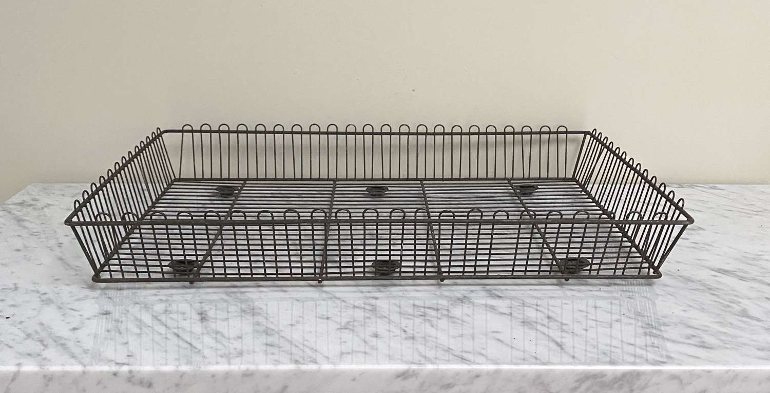 Early 20th Century Wire Work Bakers Tray