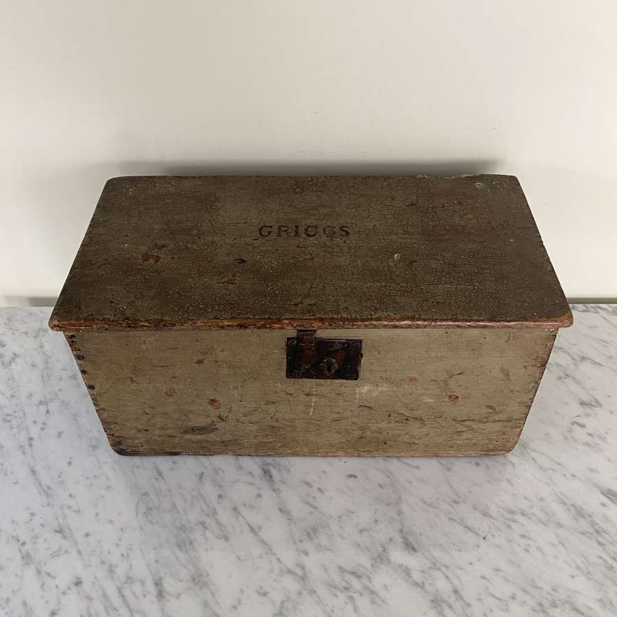 Mr Griggs Victorian Pine Rabbit Box - Provenance Holkham Hall, Norfolk