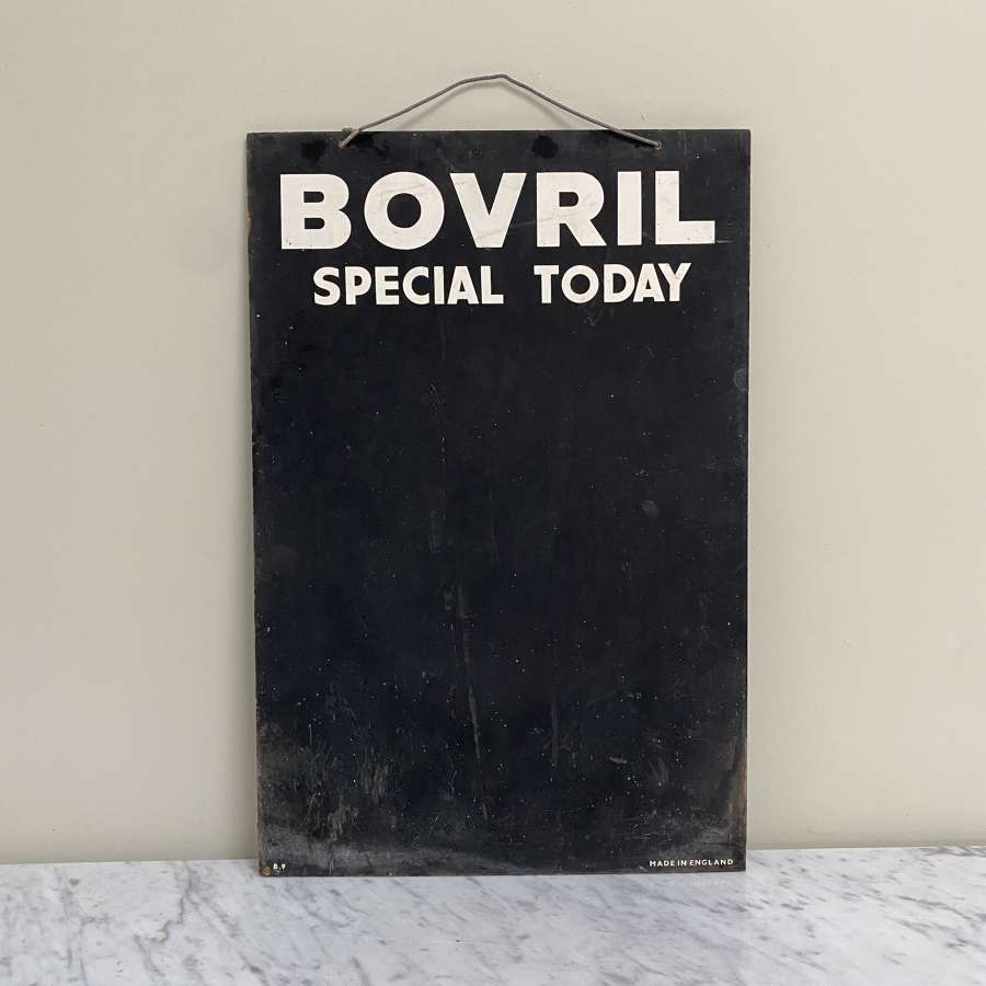 Mid Century Shops Bovril Advertising Blackboard - Special Today