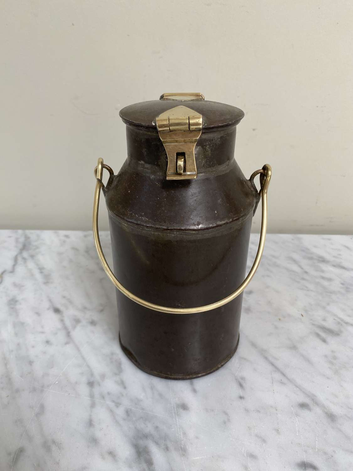 Late Victorian Dairy Milk Can - Lovely Condition