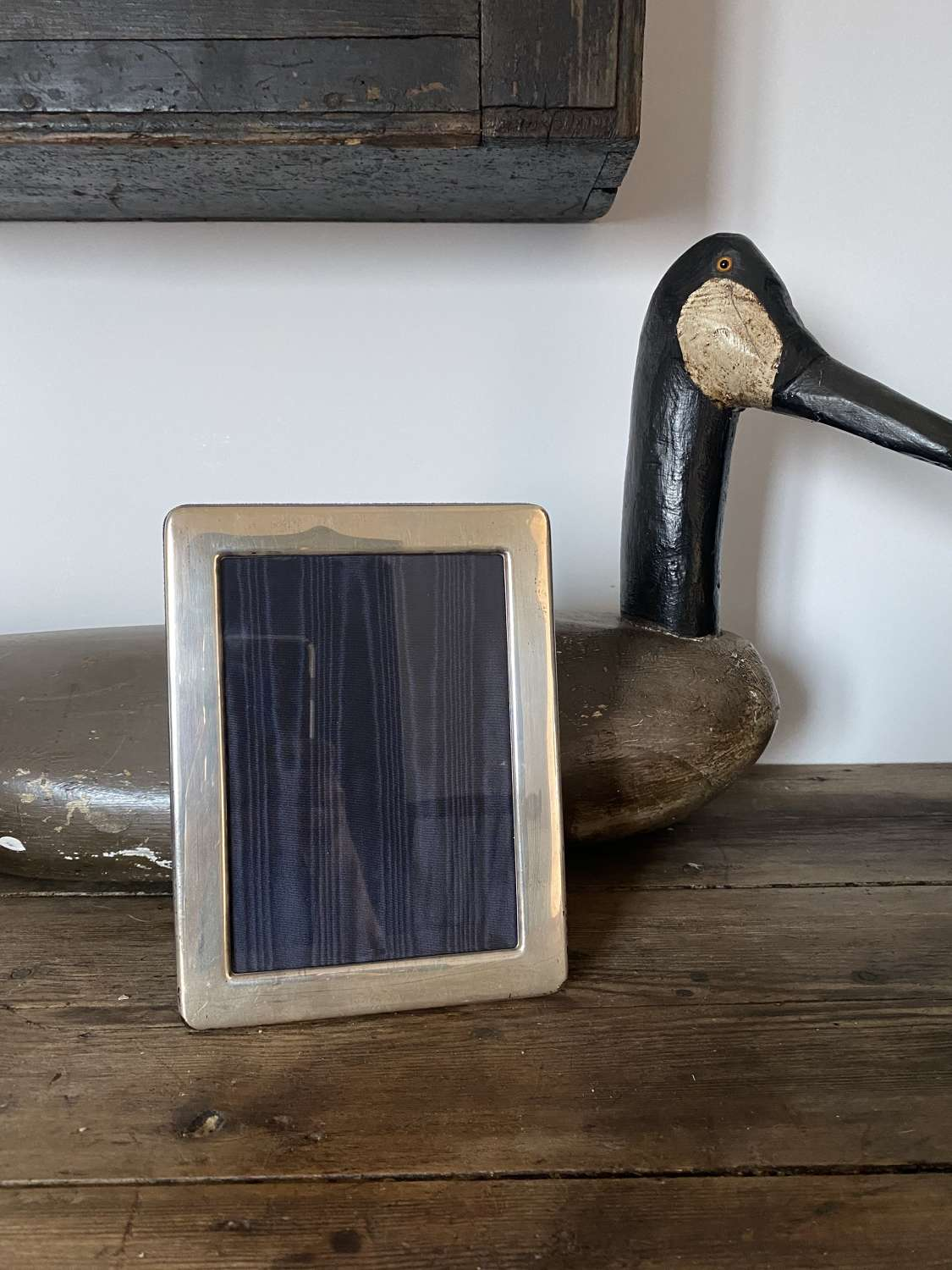 """Solid Silver 7"""" x 5"""" Photograph Frame c1990"""