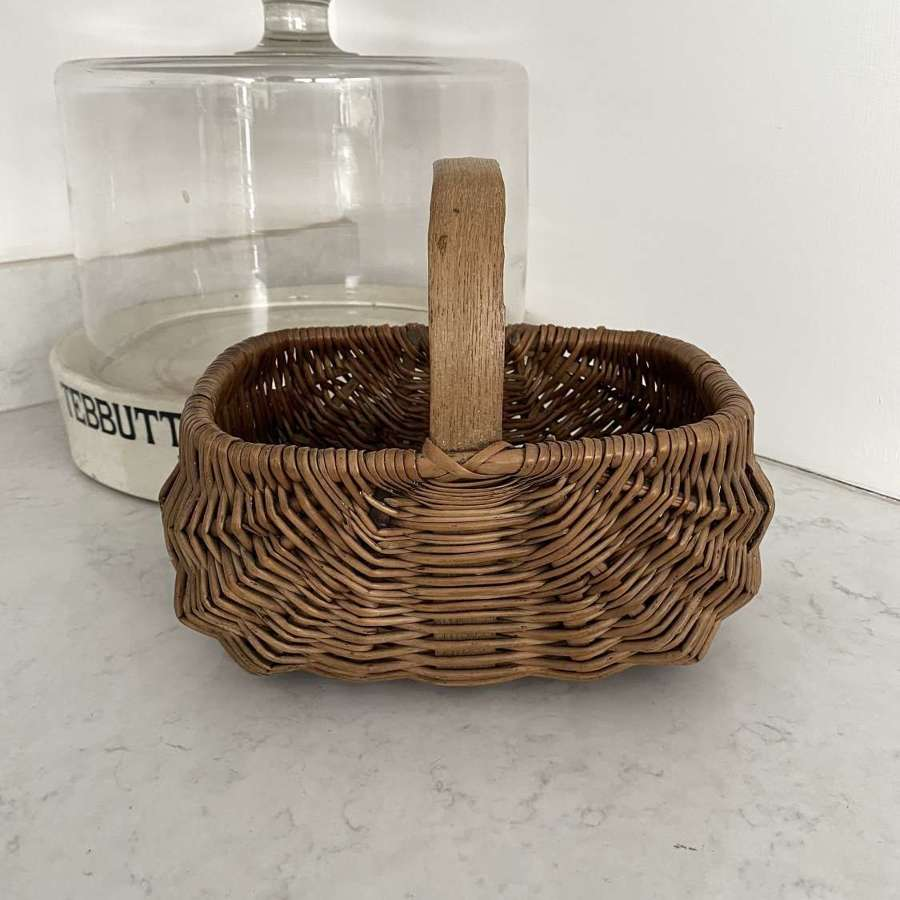 Superb Condition Childs Bentwood Basket