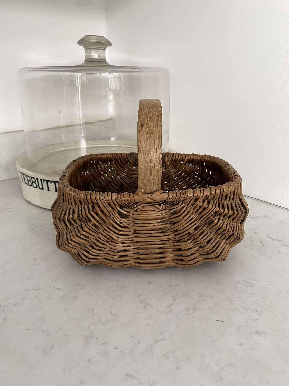 Superb Condition Childs Bentwood Basket