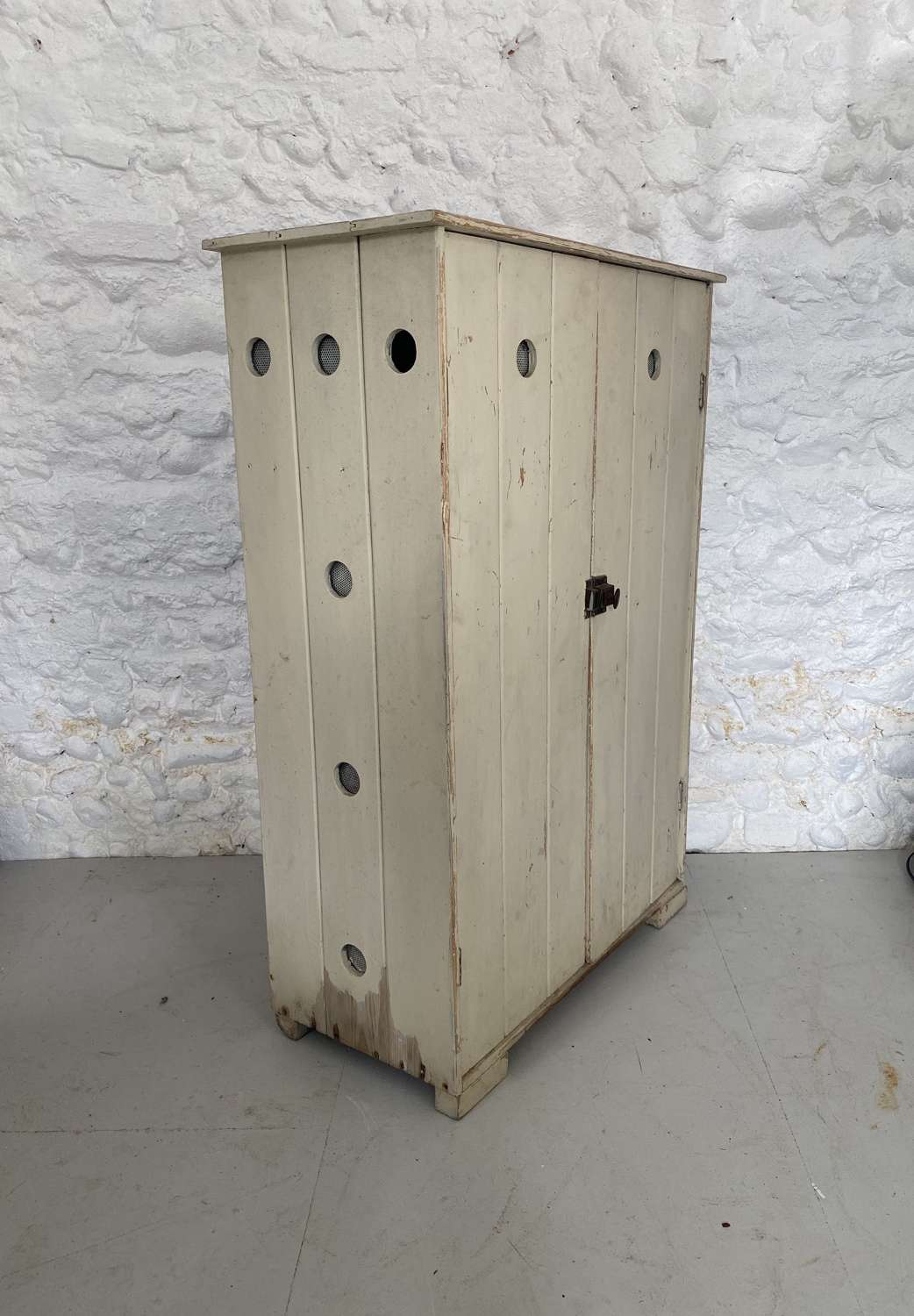 Early 20th Century Pine Dairy - Cheese - Cupboard